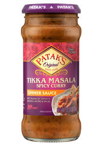 recipe: pataks tikka masala curry sauce [27]